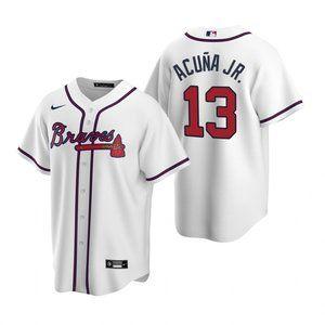 Atlanta Braves #13 Ronald Acuna Jr. Jersey